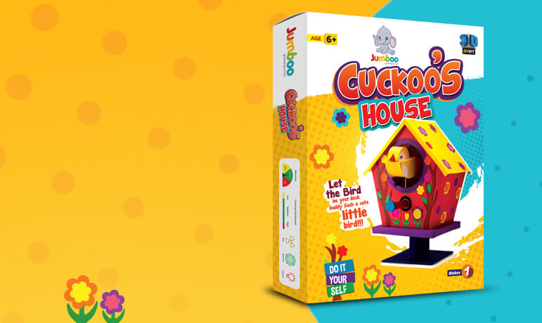 Cuckoo's House DIY Craft Kits for Kids