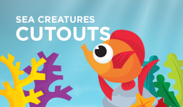 Printable Paper Creatures Cutouts
