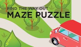 Solve the Maze Printable Paper
