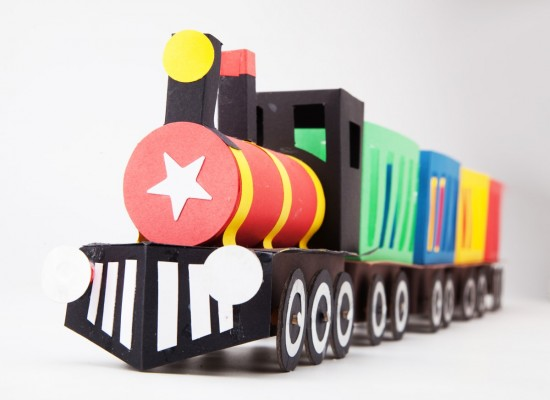 Animal Train Crafts and Activities kit