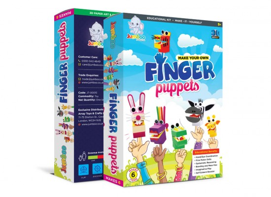 Finger Puppets Paper Craft Kits