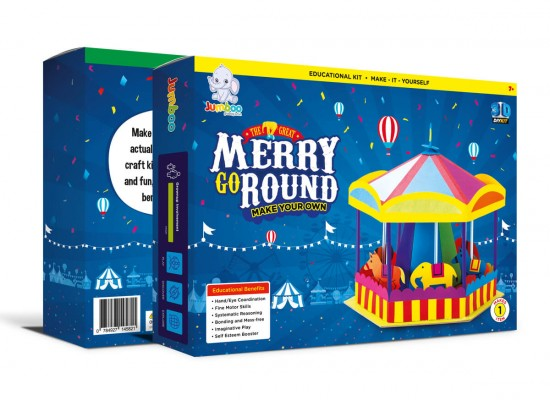 Merry Go Round Paper Toy Crafts