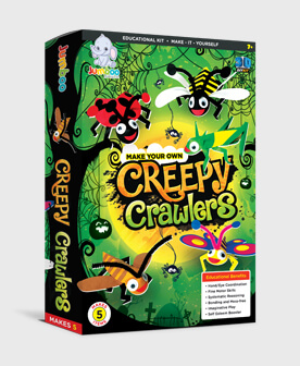 Creepy Crawlers Papers Crafts Toys