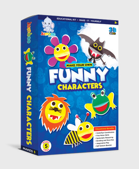 Paper Funny Characters Crafts
