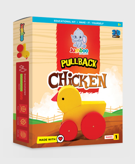 Papercraft chicken Toy For Kids
