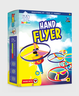 Hand Flyer Craft Paper Kits