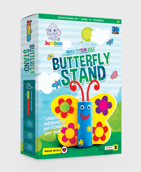 Butterfly Stand Paper Craft Kit