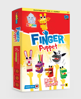 DIY Finger Puppets Paper Craft Kits