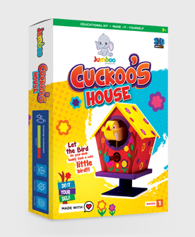 Cuckoo's House DIY Paper Craft Kits for Kids