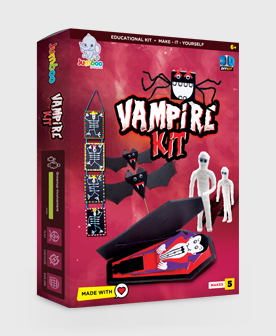 Art and Craft Vampire Paper Kits Toy