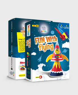 Flying Paper Craft Toys Kits